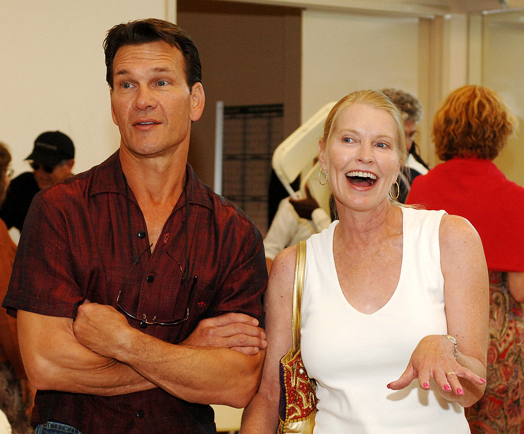 """Patrick Swayze and Wife Lisa Niemi Visit The Nevada Ballet Theatre to Promote Their Movie """"One Last Dance"""""""