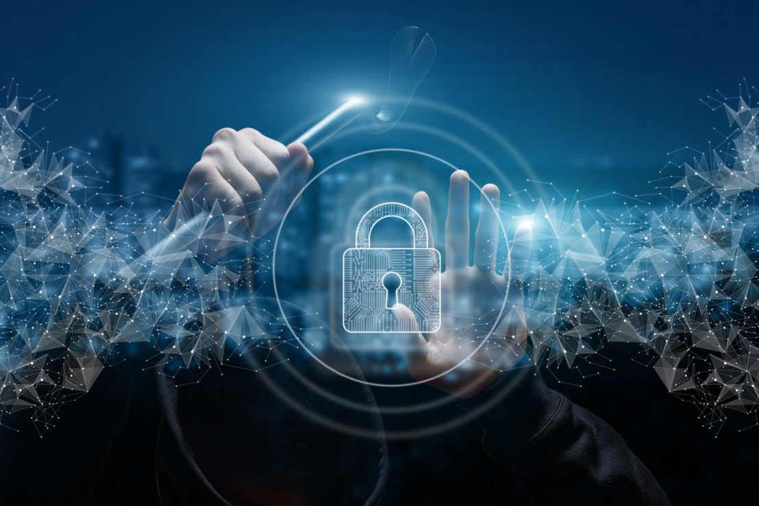Concepts of protecting the network from hacking hackers.
