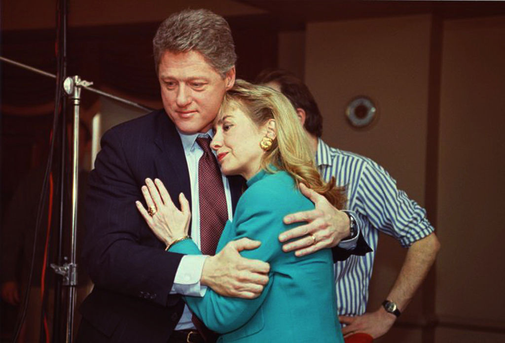 Bill Clinton & Hillary Rodham Clinton