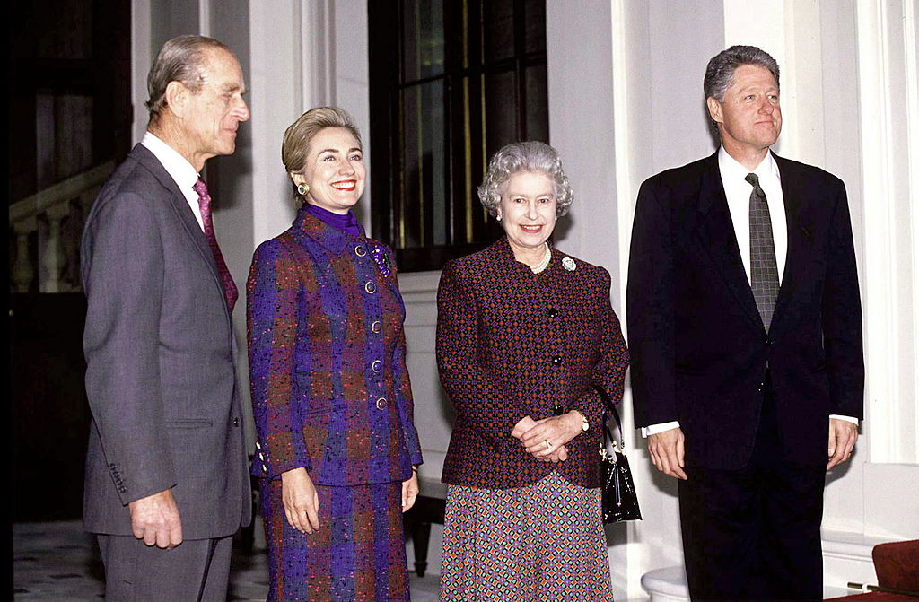 Queen,philip,bill Clinton,hillary